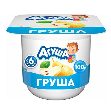 Творог детский фруктовый Агуша Груша 3.9% 100 г с 6месяцев