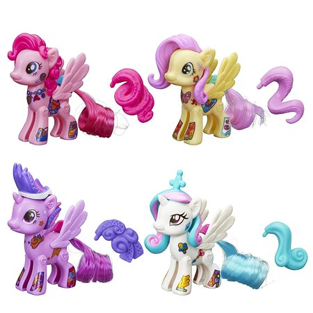 Стильные пони My Little Pony Создай свою пони в ассортименте