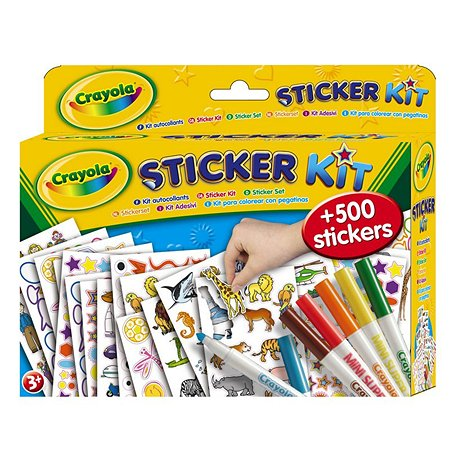 Набор стикеров Crayola в ассортименте