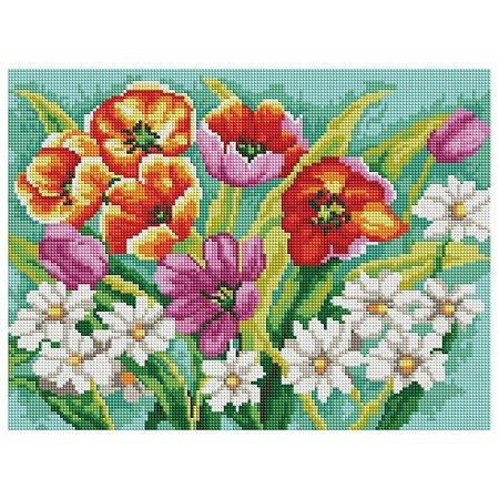 Набор для творчества Белоснежка 271-ST-S Прекрасные цветы