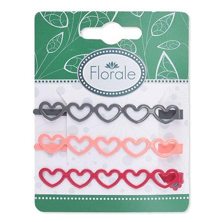 Набор невидимок Florale для волос 3 штуки