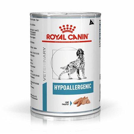 Корм для собак ROYAL CANIN Hypoallergenic с пищевой аллергией консервированный 0.4кг
