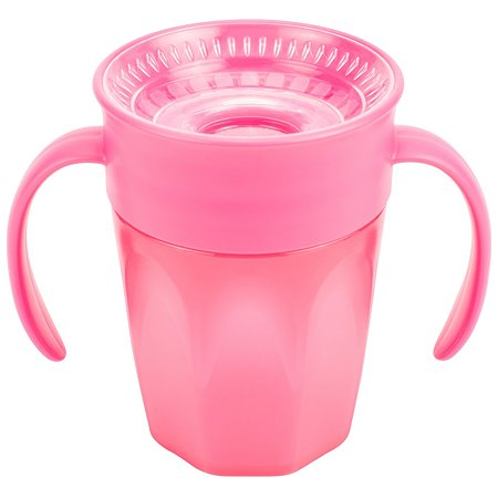 Чашка-непроливайка Dr Brown's Cheers 360 200мл Розовый
