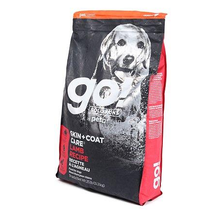Корм для щенков и собак GO со свежим ягненком 11.3кг