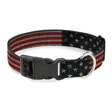 Ошейник для собак Buckle-Down Флаг США CPC-W32210-S