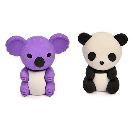 Ластики Silwerhof Панда и коала 2шт 1097674