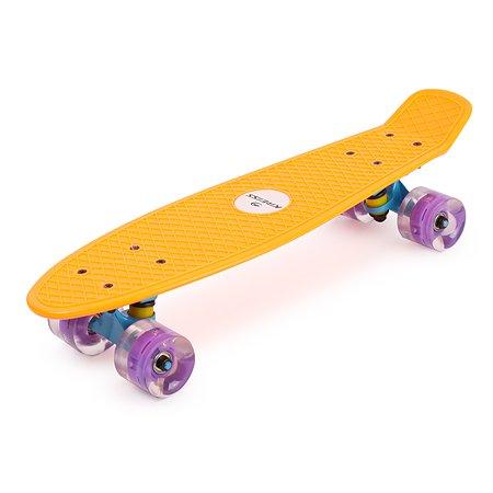 Скейтборд Kreiss Оранжевый HF-SK001-3