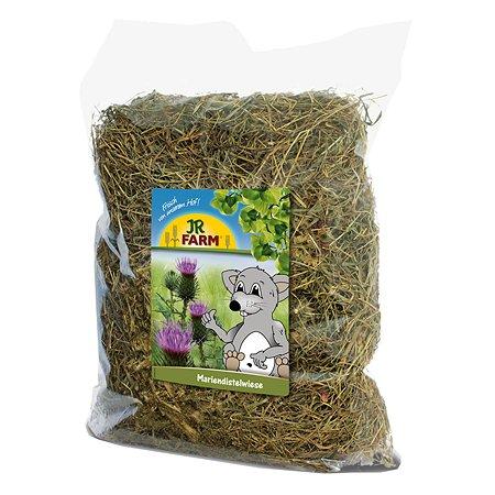 Сено для грызунов JR Farm с добавлением молочного чертополоха 500г