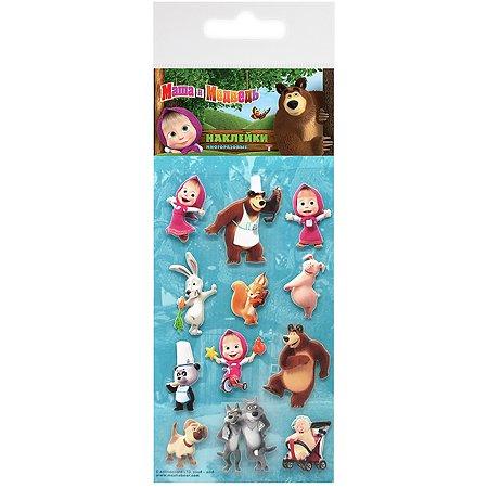 Наклейка декоративная Маша и Медведь лицензионная 4 Маша и Медведь 2 70*160