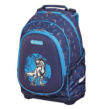 Рюкзак школьный Herlitz Bliss Blue Dino 50014019