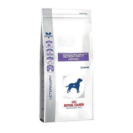 Корм для собак ROYAL CANIN Sensitivity Control SC21 с пищевой непереносимостью утка 1.5кг