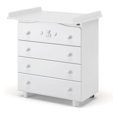 Комод Nuovita Lusso Bianco/Белый