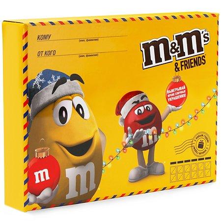 Набор подарочный M&MS Friends Big Envelop 679г