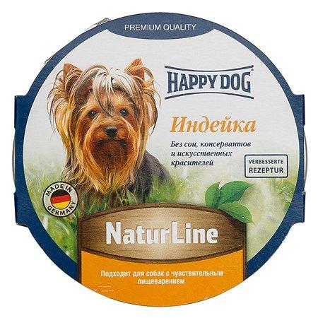 Корм для собак Happy Dog Natur Line паштет индейка консерванный 85г