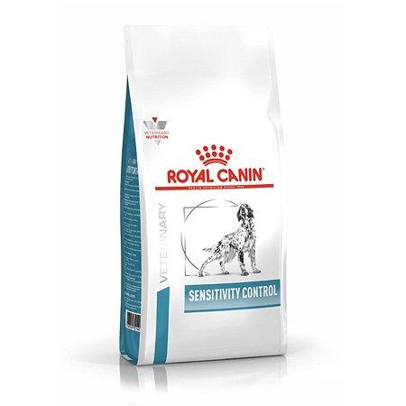 Корм для собак ROYAL CANIN Sensitivity Control SC21 с пищевой непереносимостью утка 14кг
