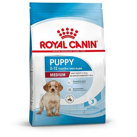 Корм для щенков ROYAL CANIN средних пород 2-12 месяцев 3кг