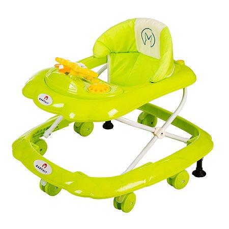 Ходунки Babyhit Funny Ride Green