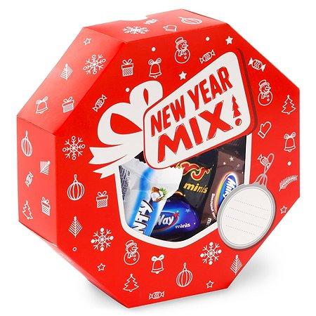 Набор подарочный MARS Mixed Minis Centerp Box 351г