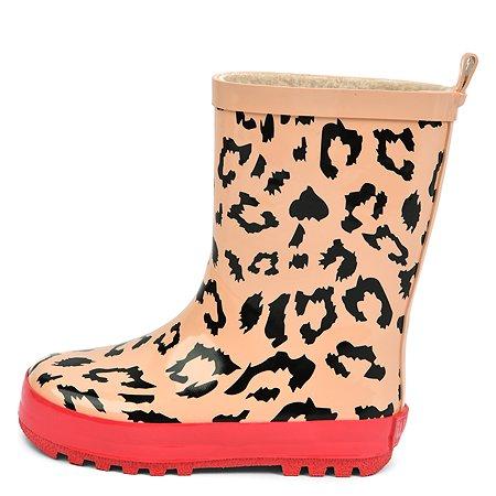 Резиновые сапоги Wappo леопардовые