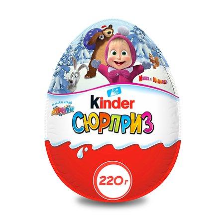 Яйцо шоколадное Kinder Maxi с игрушкой для девочек 220г