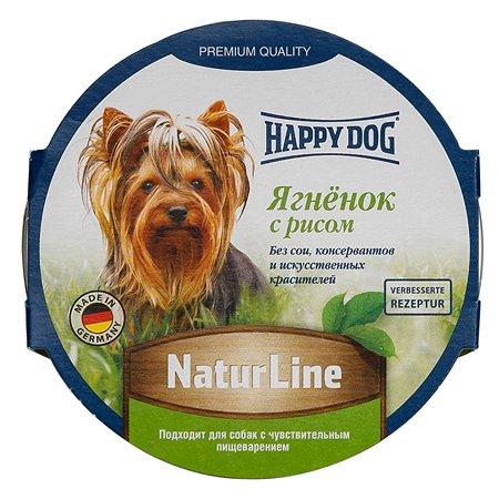 Корм для собак Happy Dog Natur Line паштет ягненок-рис консерввированный 85г