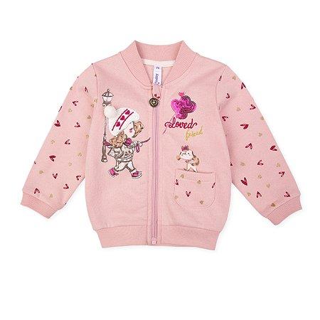Толстовка PlayToday розовая