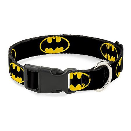 Ошейник для собак Buckle-Down Бэтмен CPC-WBM001-M
