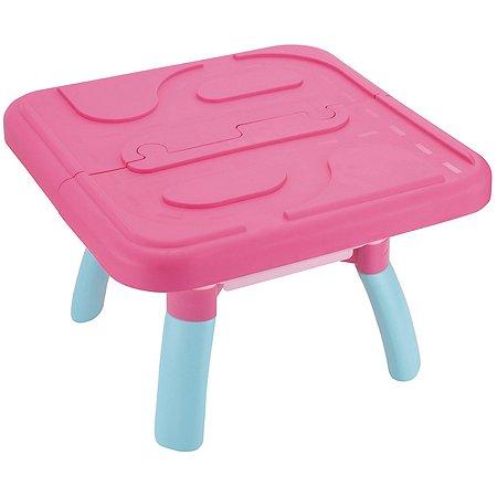 Песочница ELC Стол для песка и воды розовый 140221
