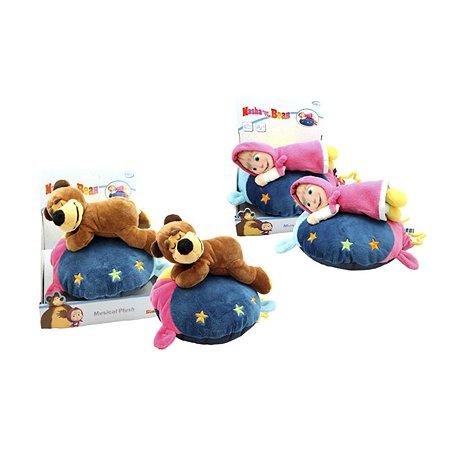 Музыкальная  подушка Simba Маша и Медведь(плюш)