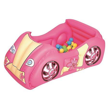 Центр игровой Bestway Машина с шариками 52159
