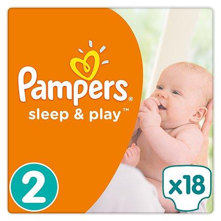 Подгузники Pampers Sleep and Play 3-6кг 18шт
