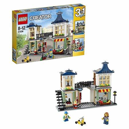 Конструктор LEGO Creator Магазин по продаже игрушек и продуктов (31036)