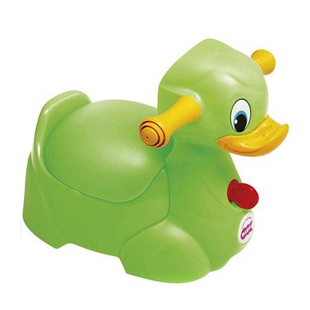 Горшок OK BABY QUACK Зелёный