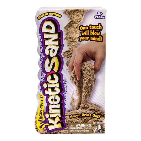 Песок для лепки Spin Master Kinetic sand(коричневый) 910 гр.