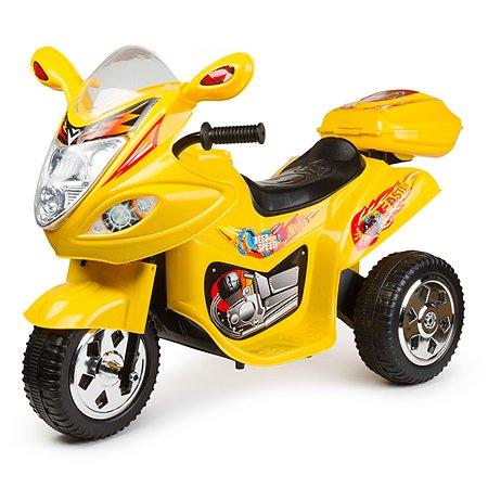 Мотоцикл Kreiss Angry Birds желтый 6V4AH