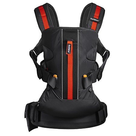 Рюкзак-кенгуру BabyBjorn ONE OUTDOORS черный