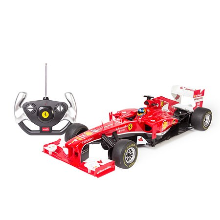 Машинка Rastar радиоуправляемая Ferrari F1 1:12 красная