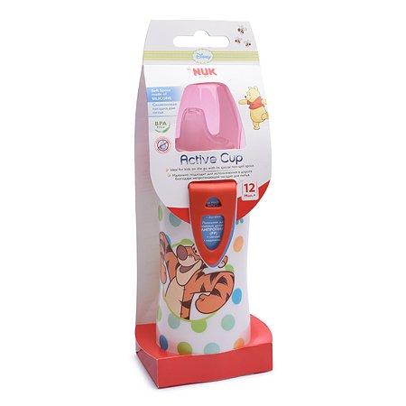 Поильник Nuk Disney для активных детей 300 мл Красный