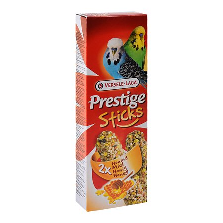 Лакомство для волнистых попугаев Versele-Laga Prestige Палочки с медом 30г 2шт