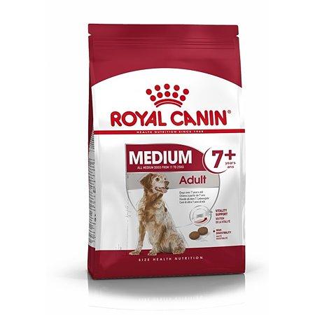 Корм для собак ROYAL CANIN пожилых средних размеров 11-25кг 4кг
