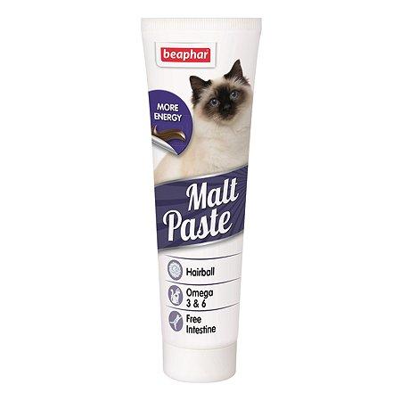 Паста для кошек Beaphar Malt Paste для вывода шерсти 100г