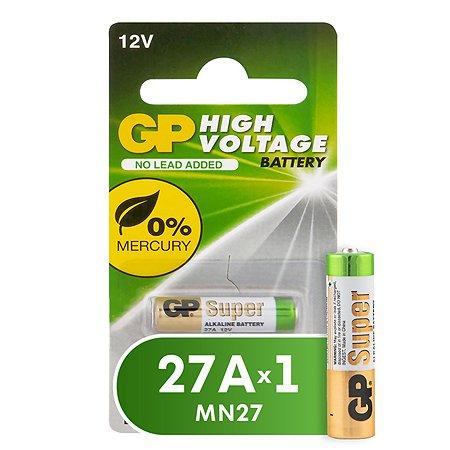 Батарейка GP GP 27А (MN27) 27A-BC1