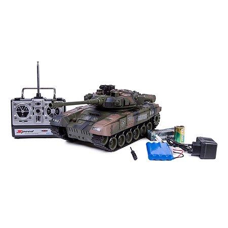 Танк на радиоуправлении Global Bros Household Т-90 1:20 со звуковыми эффектами