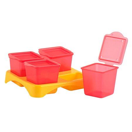 Контейнеры для хранения еды TUBIK 4шт 15930
