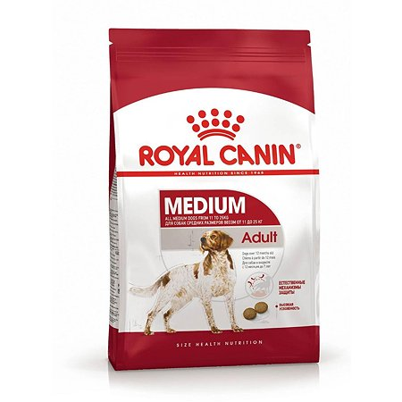 Корм для собак ROYAL CANIN средних пород 3кг