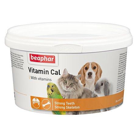 Смесь для собак и кошек Beaphar Vitamin Cal для иммунитета витаминизированная 250г
