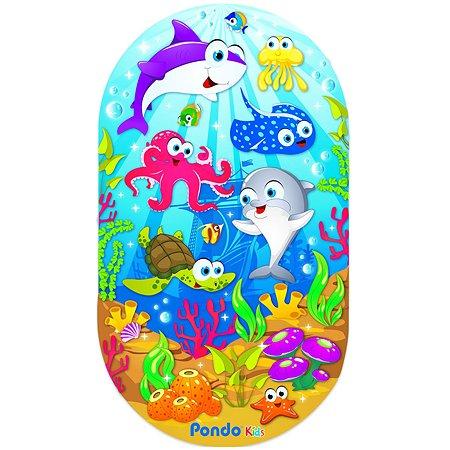 Коврик для ванной Pondo Морские обитетели РК-0028