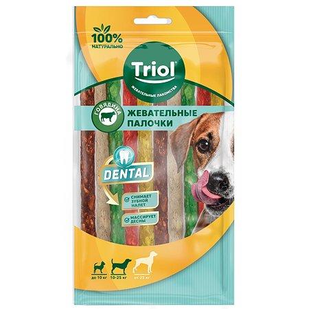 Лакомство для собак Triol Dental палочки микс 10шт