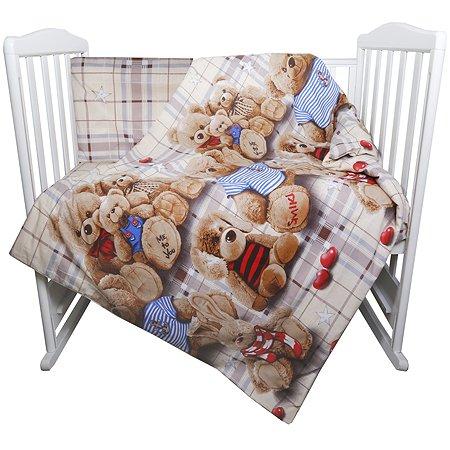 Комплект в кроватку Babyton 3D Animals 3предмета 10027