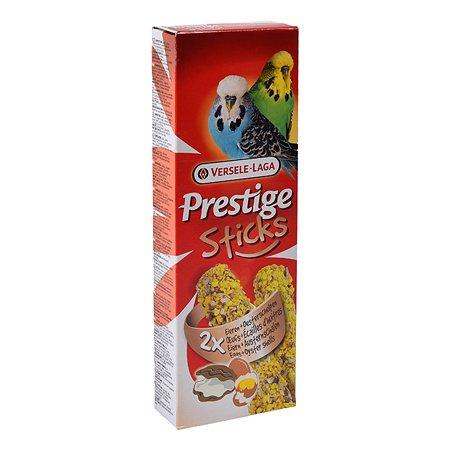 Лакомство для волнистых попугаев Versele-Laga Prestige Палочки с яйцом и ракушечником 30г 2шт